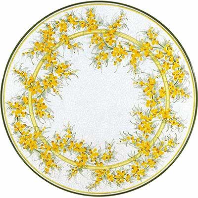 Piano del tavolo in pietra lavica italiano in design Delicato