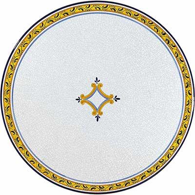 Piano del tavolo in pietra lavica italiano in design Rombo