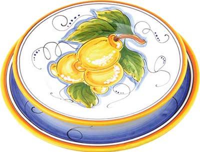 Set da tavola in ceramica design Pescara
