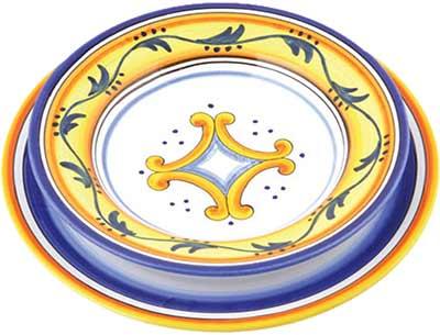Set da tavola in ceramica design San Giminiano