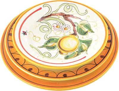 Керамический сервиз посуды в дизайне Bevagna