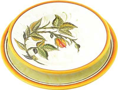 Керамический сервиз посуды в дизайне Cascia