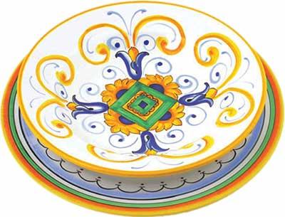 Керамический сервиз посуды в дизайне Pisa
