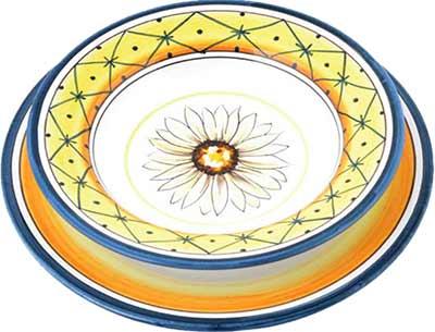 Керамический сервиз посуды в дизайне Salerno