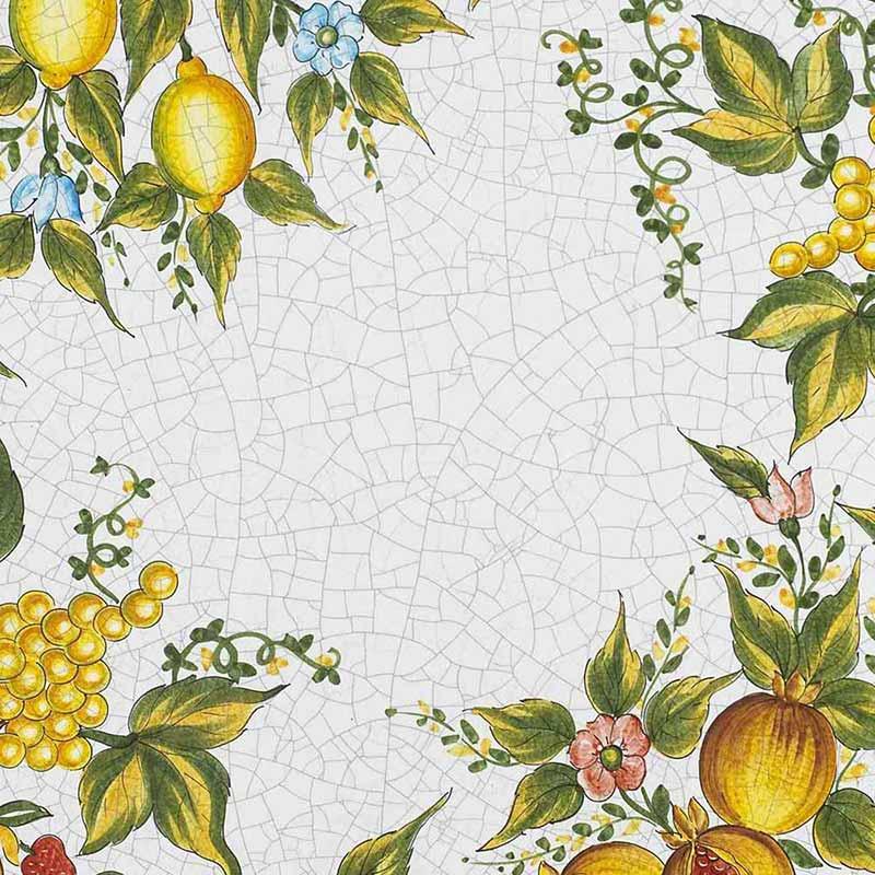 Pattern of Italian table top Taormina made of lava stone