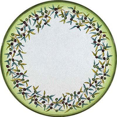 Ручная роспись столешницы в дизайне Ulivo