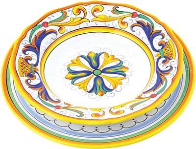 Keramikgeschirr Set im Design Foligno
