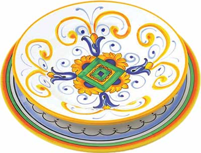 Keramikgeschirr Set im Design Pisa