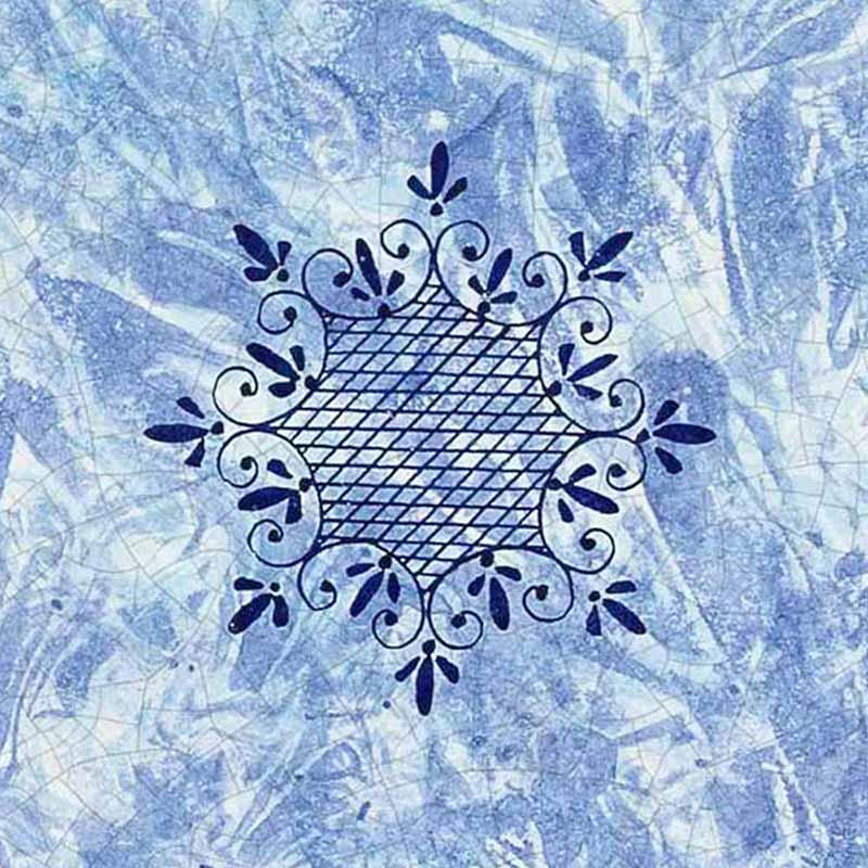 Muster von italienischer Tischplatte Delfino aus Lavastein