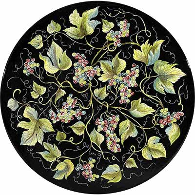 Tischplatte aus italienischem Lavastein im Design Barolo