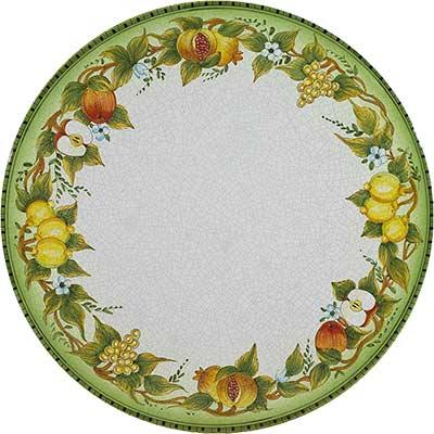 Tischplatte aus italienischem Lavastein im Design Casale