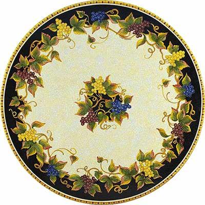 Tischplatte aus italienischem Lavastein im Design Natura