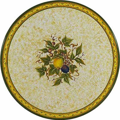Tischplatte aus italienischem Lavastein im Design Spoleto