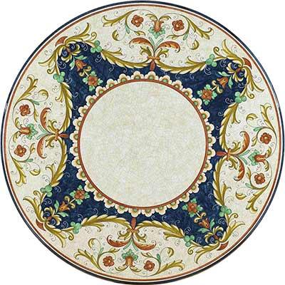 Tischplatte aus italienischem Lavastein im Design Trevi
