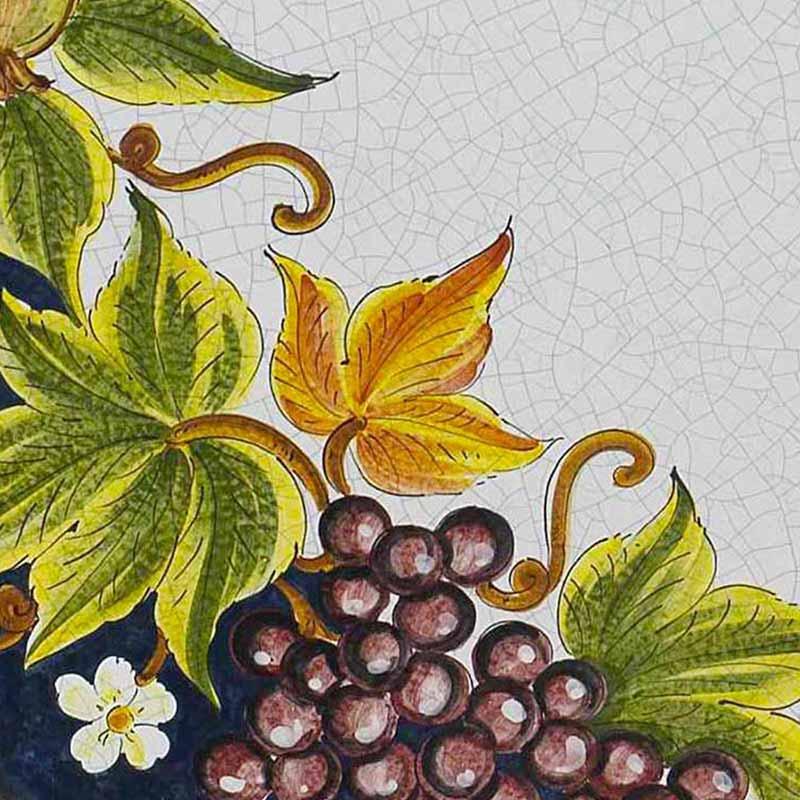 Muster von italienischer Tischplatte Lungomare aus Lavastein