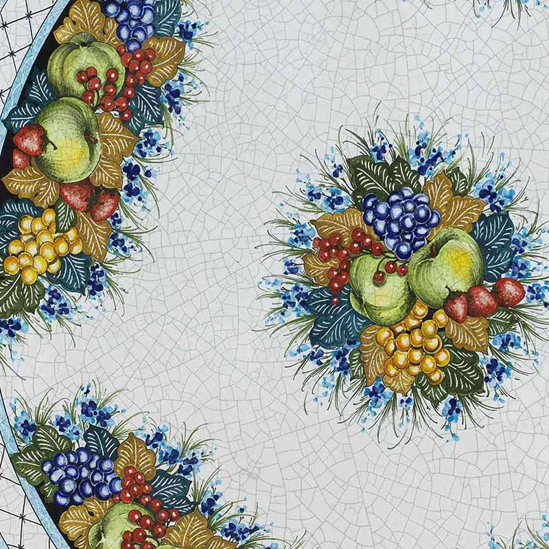Muster von italienischer Tischplatte Ruffini aus Lavastein